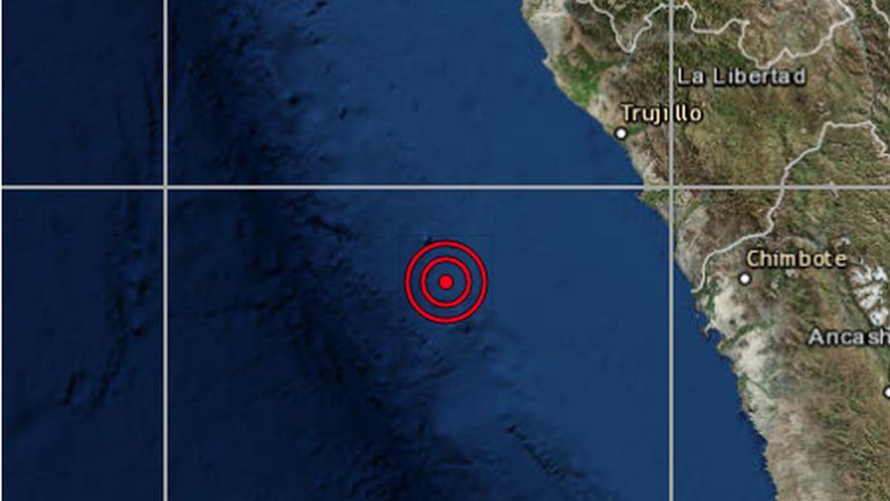 Sismo de magnitud 4.0 se registró esta mañana en Trujillo. (IGP)