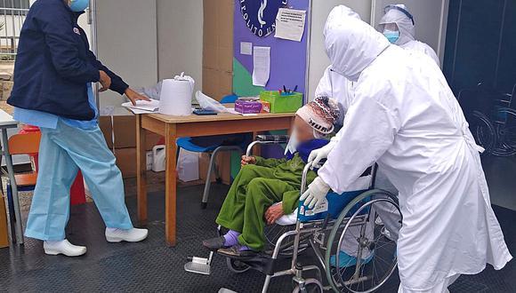 Es la paciente 442, dada de alta en ese Centro de Atención y Aislamiento Temporal del Proyecto Legado ubicado en el Hospital Hipólito Unanue. (Foto: Legado Panamericanos)