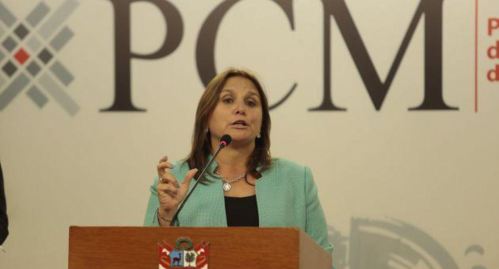 Marisol Pérez Tello se encargará de la Defensa Jurídica del Estado. (Perú21)