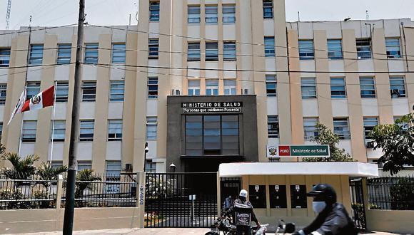 Ministerio Público realiza diligencia en el Ministerio de Salud por caso 'Vacunagate'. (GEC)