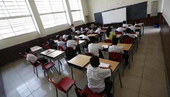 Solo un 4% podrá continuar sus estudios. (Foto: GEC)