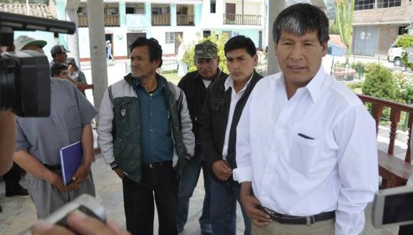 Allegados a Wilfredo Oscorima indicaron que la autoridad regional estaría en Lima. (Difusión)