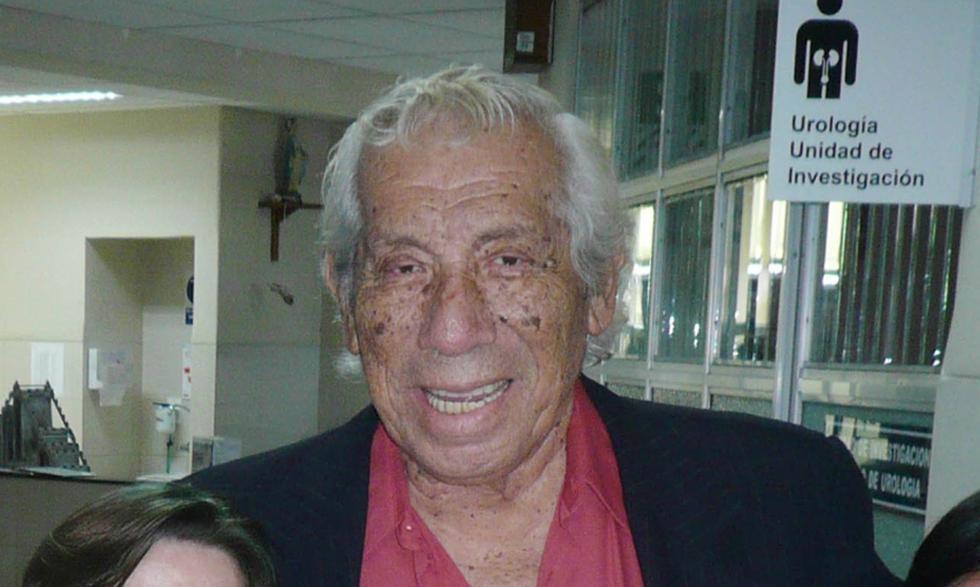 Falleció el actor cómico Guillermo Campos.