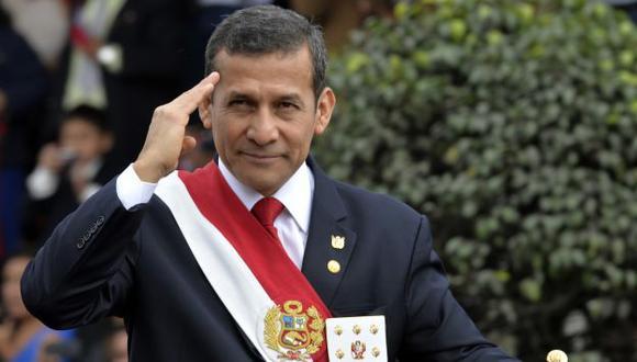 Ollanta Humala saludó la designación de Edwin Oviedo en la FPF. (Perú21)