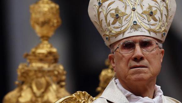 SEÑALADO. Tarcisio Bertone, actual secretario del Vaticano. (Reuters)