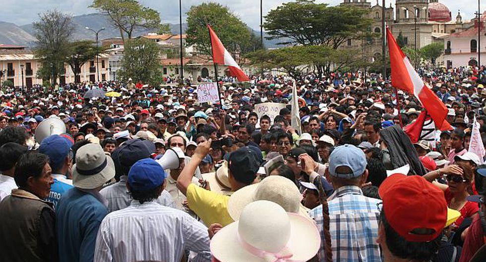 La convulsión social que se mantiene en Cajamarca asfixia a esta región. (Perú21)