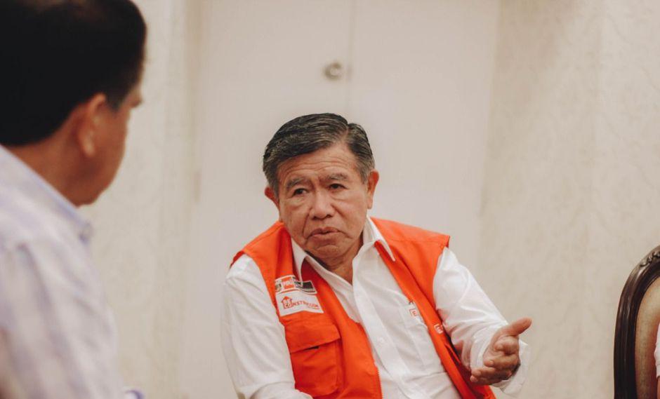 Nelson Chui, director ejecutivo de la Autoridad para la Reconstrucción con Cambios, se reunió con autoridades de La Libertad.
