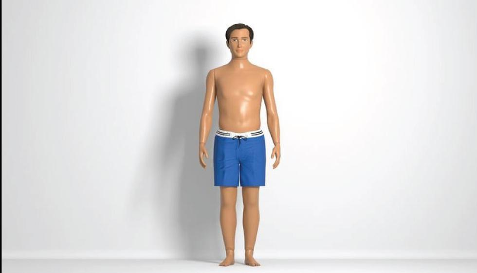 El esposo de Barbie ahora tiene proporciones reales (Lammily)