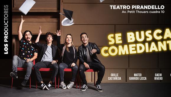 'Se Busca Comediante' vuelve este año al Teatro Pirandello.