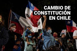 Chilenos votaron este fin de semana para cambiar su constitución