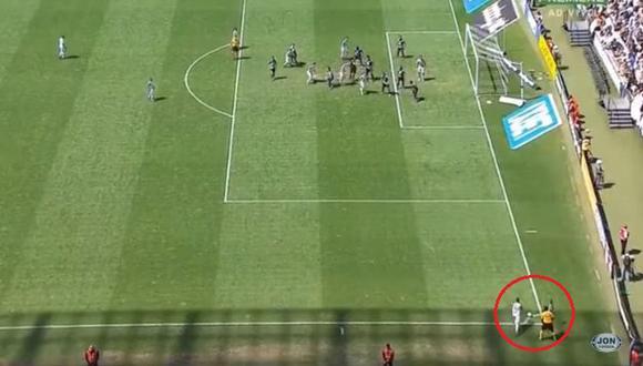 Leandro Carvalho se lució con golazo y le dio el empate a Ceará ante Corinthians. (Captura: YouTube)