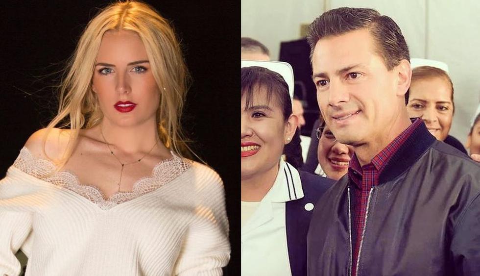 Modelo Tania Ruiz confirma su relación con el ex presidente de México, Enrique Peña Nieto. (Foto: Instagram)