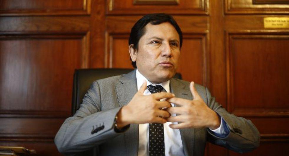 Grupo de trabajo es presidio por Segundo Tapia. (Renzo Salazar)