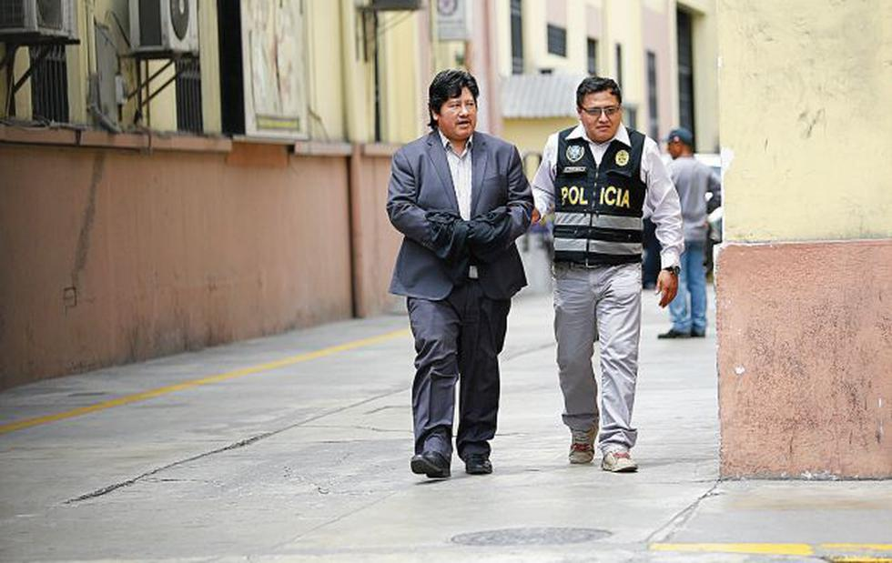 Edwin Oviedo cumple prisión en el penal de Picsi (Chiclayo). (Perú21)