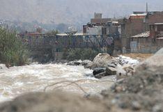 Más de 10 regiones del país presentan riesgo de huaicos por lluvias