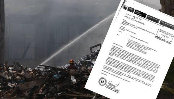Se hicieron humo. Además de los equipos informáticos, se perdieron miles de textos escolares. (César Fajardo/Perú21)