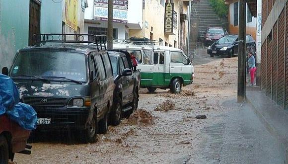 Más de 100 familias afectadas por las lluvias en Tingo María. (USI/Referencial)