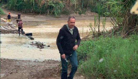Richard Blanco estuvo refugiado en la embajada de Argentina en Caracas desde el 9 de mayo. (Foto: Twitter - Richard Blanco)