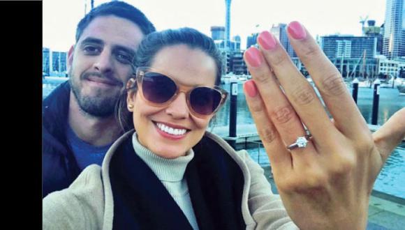 Valeria Piazza anuncia que se casará. (Valeria Piazza)