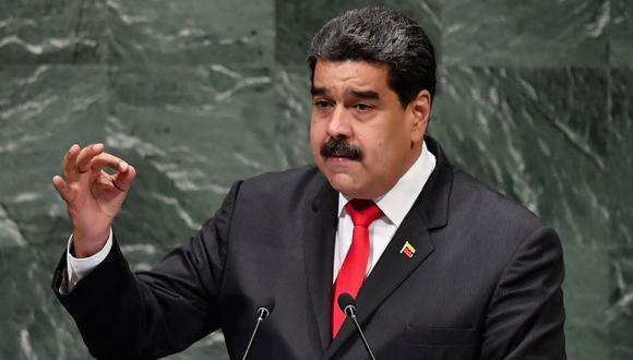 Estaba previsto que Nicolás Maduro interviniera ante la Asamblea General el próximo 26 de septiembre. (Archivo / AFP)