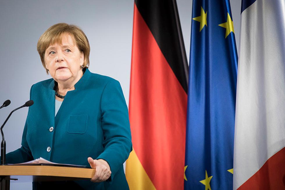 Merkel agradeció a sus 2.5 millones de seguidores y los invitó a continuar siguiéndola a través de la página oficial de Facebook del gobierno o en Instagram, donde comparte fotos. (Getty)
