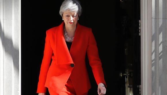 Con una serie de errores estratégicos cometidos en los últimos tres años Theresa May hizo la tarea del Brexit aún más difícil. (Foto: AFP)
