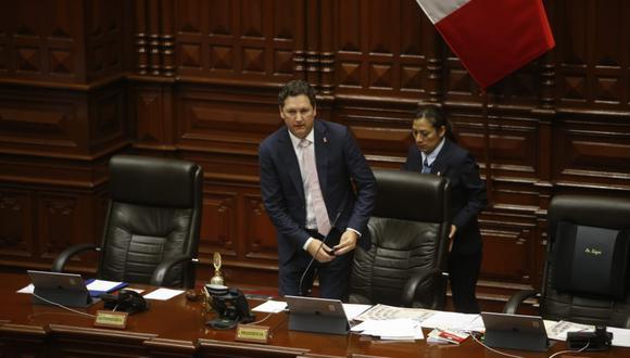 Daniel Salaverry convocó a Junta de Portavoces. (Foto: Mario Zapata)