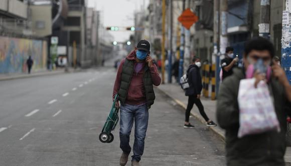 Lima Metropolitana registra caída de nuevos casos. (Foto: Cesar Campos/GEC)