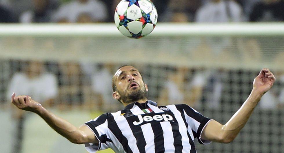 Barcelona vs. Juventus: Chiellini es un referente del equipo turinés. (AFP)