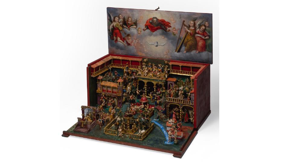 Obra que se encuentra en la exposición Navidad Barroca. (Imágenes proporcionadas por Comunicaciones del Museo Pedro de Osma)