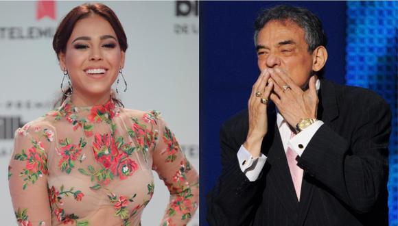 Danna Paola y su emotivo mensaje de agradecimiento a José José. (Foto: AFP)