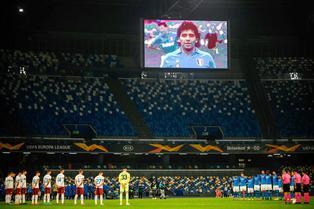 Nápoli anunció que el estadio San Paolo pasará a llamarse Diego Armando Maradona