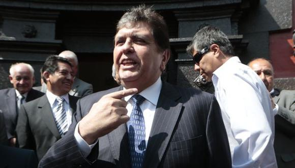 Teófilo Gamarra: 'En su momento se verá inhabilitación de Alan García'. (Mario Zapata)