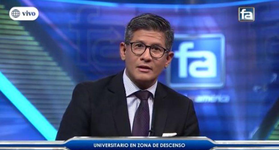 América y Canal N se pronunciaron sobre las declaraciones de Erick Osores. (Foto: Captura de América)