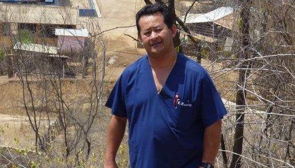 Bienvenido Ramírez, presidente de la Federación Médica de Tumbes. (Difusión)