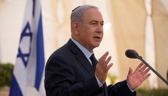 El primer ministro y titular de Defensa de Israel, Benjamin Netanyahu. (Foto: EFE)