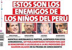 Estos son los enemigos de los niños del Perú