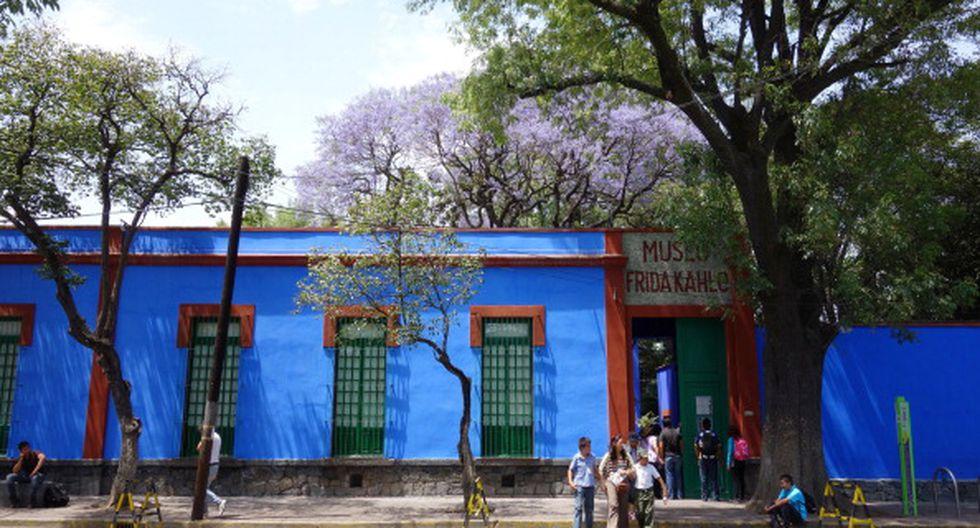 La 'Casa Azul' abre sus puertas: El Museo de Frida Kahlo permite realizar recorrido virtual por sus instalaciones