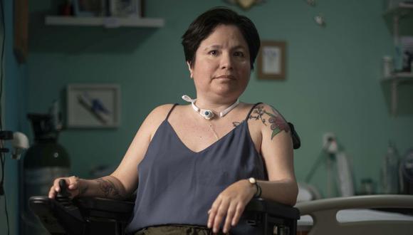 Ana Estrada, la psicóloga que nunca se rindió en su empeño de lograr una muerte digna. El Poder Judicial le terminó dando la razón. (Foto: Elías Alfageme)