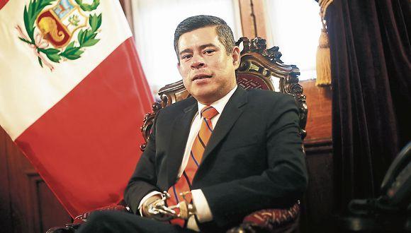 "Luis Galarreta: ""Daremos la batalla ante el Tribunal Constitucional"". (USI)"