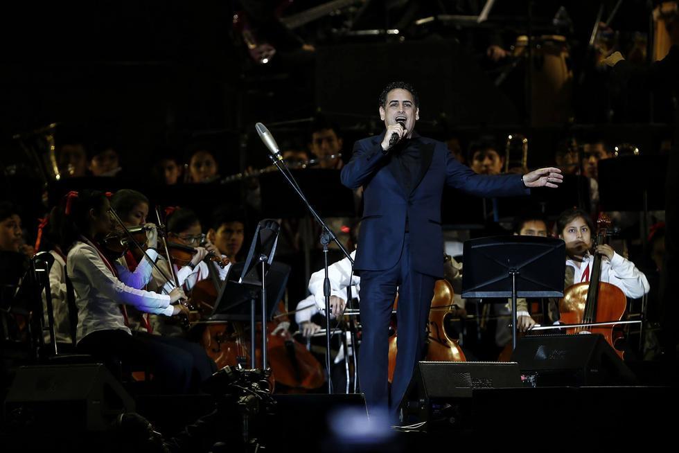 Así se vivió el concierto benéfico de Juan Diego Flórez. (Renzo Salazar)
