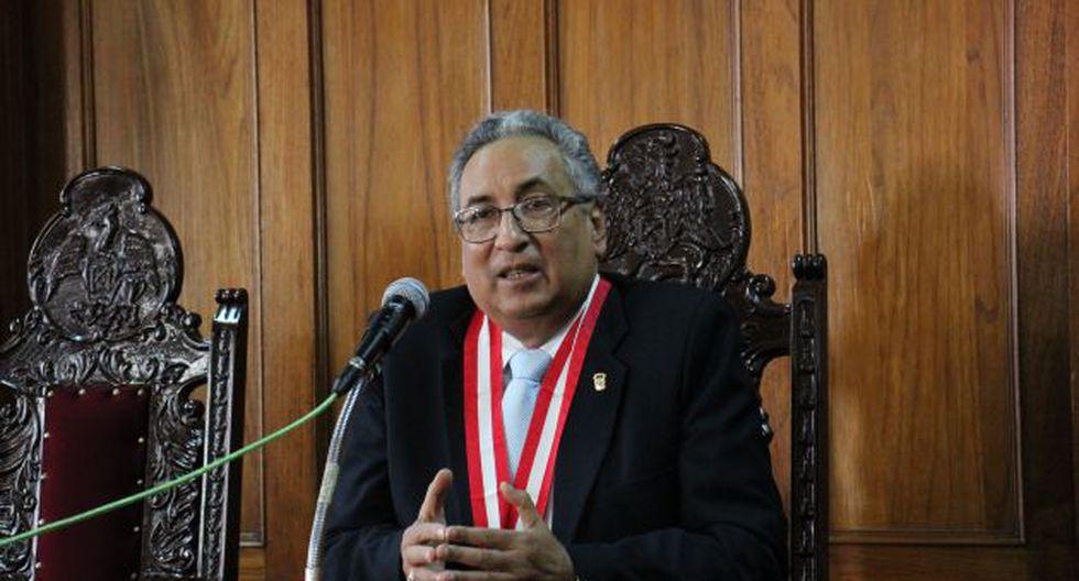 José Luis Lecaros, flamante presidente del Poder Judicial. (GEC)