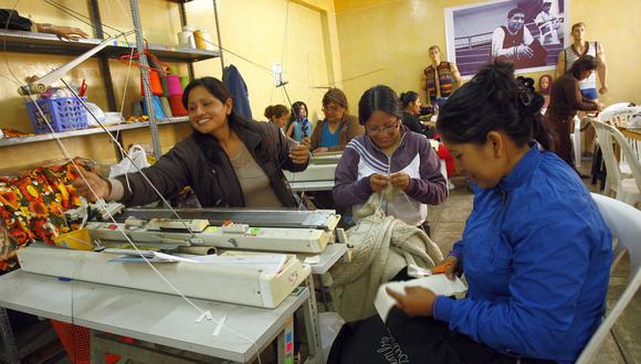 Se busca desarrollar el potencial de emprendimiento en las mujeres peruanas. (Foto: El Comercio)