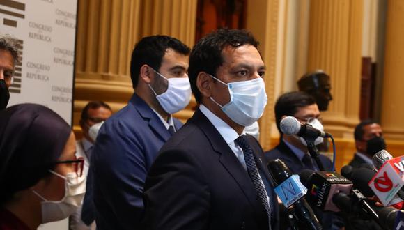 Luis Valdez renunció a integrar la Mesa Directiva tras las protestas que dejaron dos muertos el último sábado. (Foto: Alessandro Currarino / GEC)