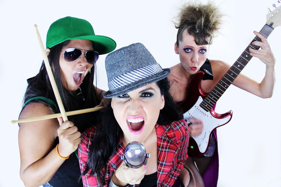 Vuelven recargadas. 'Las banda-as' alistan su nuevo show lleno de humor. (Créditos: VyV Comunicaciones)