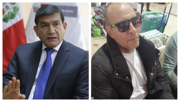 Adolfo Bazán pretendía fugar a Bolivia, aseguró Carlos Morán, ministro del Interior.