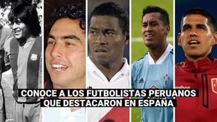 Luis Abram: ¿Qué futbolistas peruanos jugaron en la liga española?