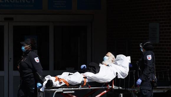 Estados Unidos registra récord de casos nuevos de coronavirus en un día con casi 100.000. (Foto: EFE/Justin Lane/).