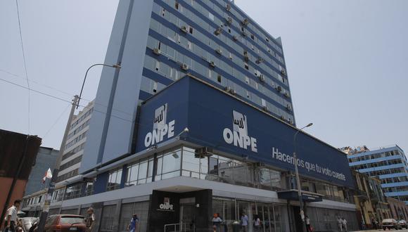 La ONPE se adecuará a los alcances de la norma que regula el financiamiento de partidos políticos. (Foto: GEC)
