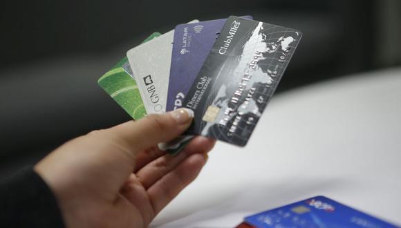 Hay 13 entidades financieras que brindan tarjetas de crédito. (Foto: GEC)